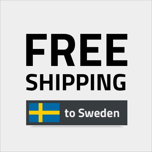 Free shipping to Sweden