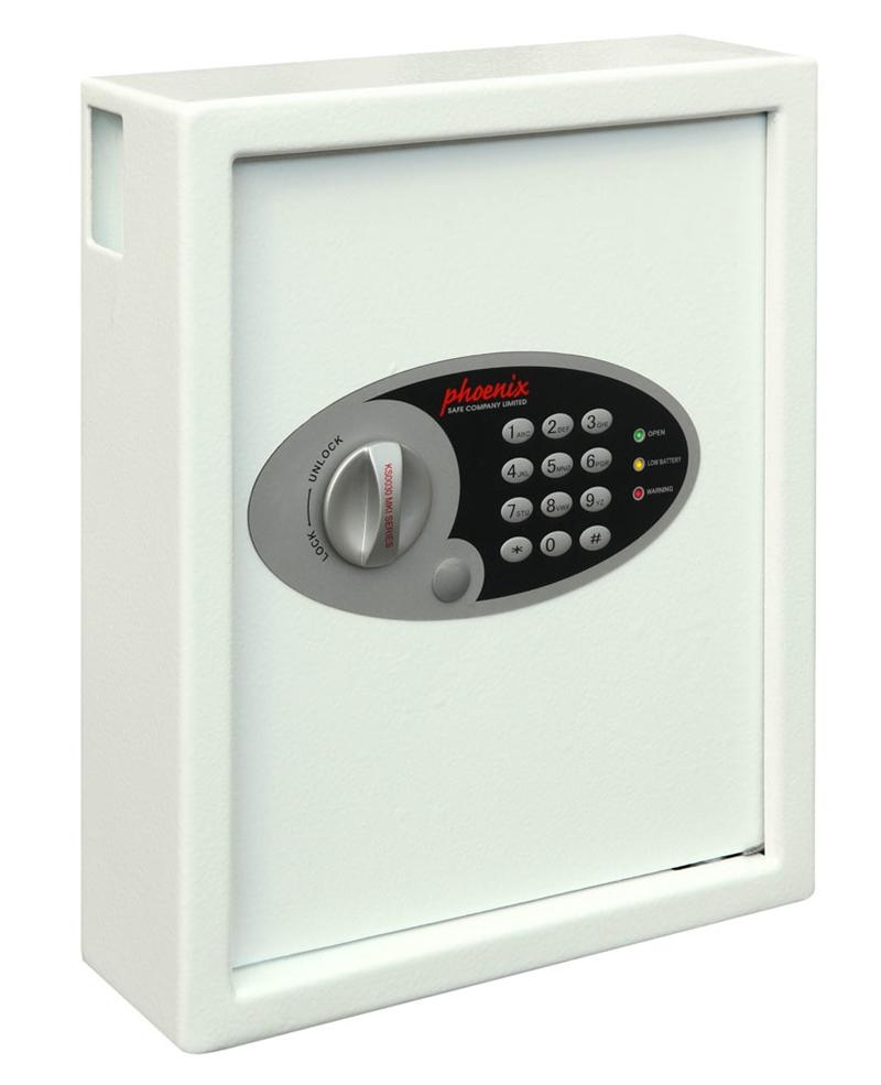 Unika Nyckelskåp med kodlås, nyckelinkast och plats för 48 nycklar AI-46
